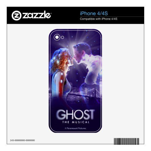 GHOST - The Musical Logo Skin For iPhone 4S