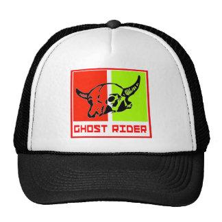 ghost to rider trucker hat