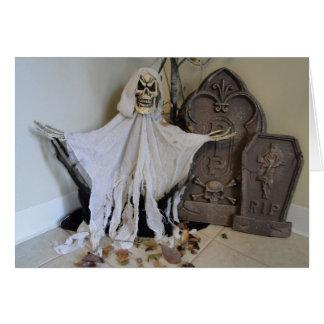 Ghost & Tombstones Card