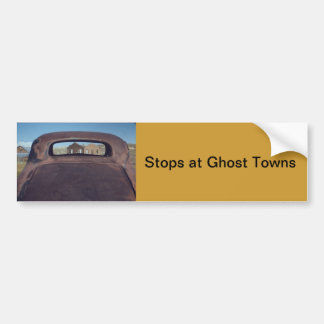 Ghost Town Bumper Sticker