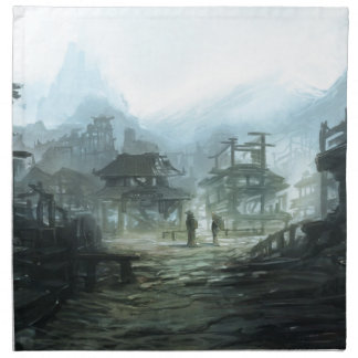 Ghost Town Cloth Napkin