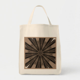 Ghost Town Kaleidoscope Reusable Tote Bag