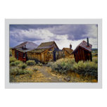 Ghost Town of Bodie California Poster