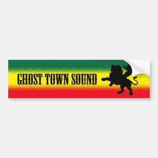 Ghost Town Sound Bumper Sticker