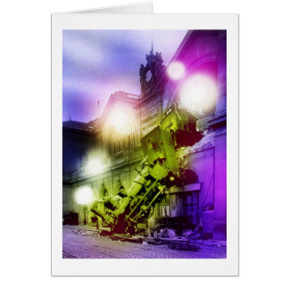 GHOST TRAIN CARD