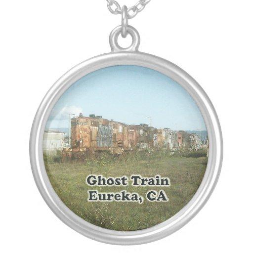 Ghost Train in Eureka, CA Necklace