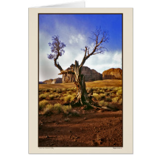 Ghost Tree - Monument Valley Card