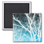 ghost tree refrigerator magnet