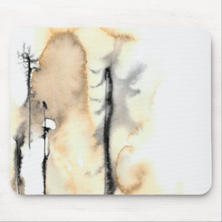Ghost Trees 1 Mouse Pad
