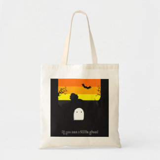 ghost trick or treat bag