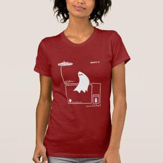 GHOST-Twhite T-Shirt