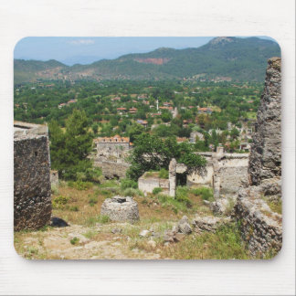 Ghost village - Kayakoy Mouse Pad