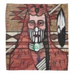 Ghost Warrior Native American Bandana