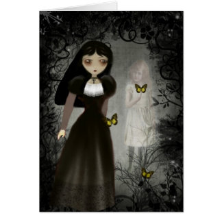 Ghost Whispers Greeting Card