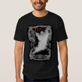Ghost White Scroll Border T-Shirt