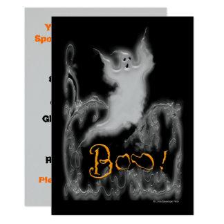 Ghost White Scrolls Card