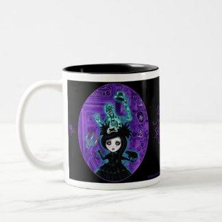 Ghost Will Follow You Home Two-Tone Coffee Mug