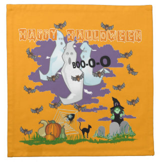 Ghost Witch American MoJo Napkins