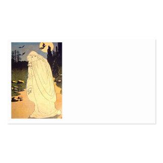 Ghost Witch Bat Moon Spirit Business Card