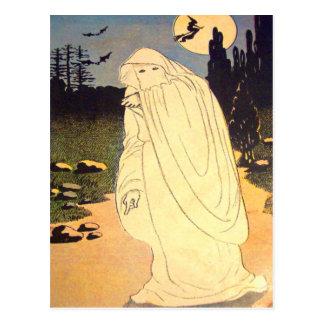 Ghost Witch Bat Moon Spirit Postcards
