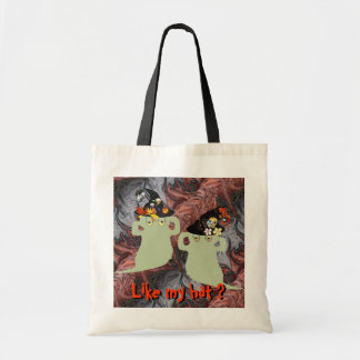 Ghost witches fashion show bags