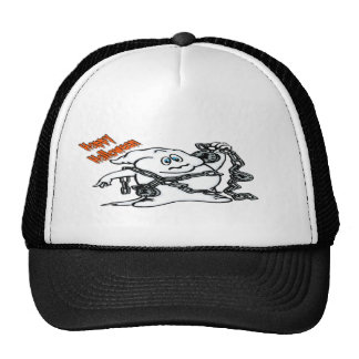 Ghost with Chains Trucker Hat
