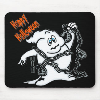 Ghost with Chains Mouse Pad