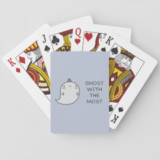 Ghost With The Most Playing Cards