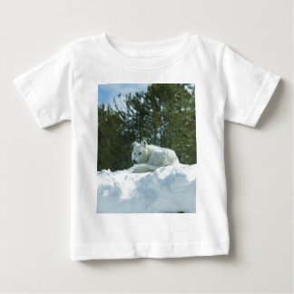 Ghost Wolf Baby T-Shirt
