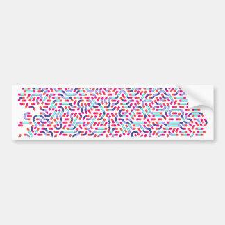 Ghost Worms Bumper Sticker