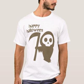 Ghostface with Scythe Happy Halloween Men's Shirt