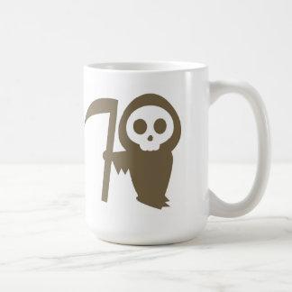 Ghostface with Scythe Happy Halloween Mug