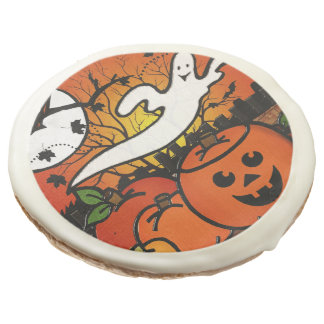 Ghostie Whimsical Halloween GIFTS EVENTS Sugar Cookie