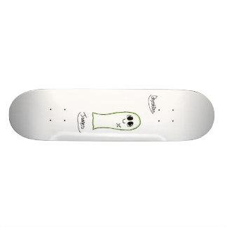 ghosties: james skateboard deck