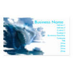 ghostinmistshark copy, Business Name, Address 1... Business Card Template