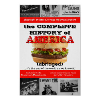 Ghostlight Complete History of America Poster