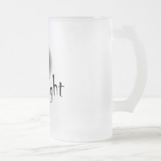 Ghostlight Frosty Pint Frosted Glass Beer Mug