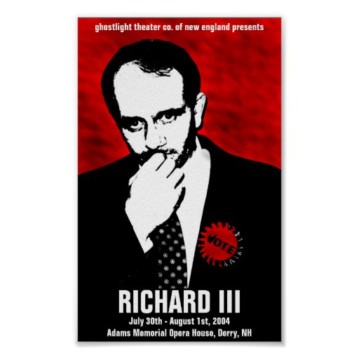 Ghostlight Richard III Poster