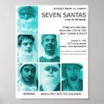 Ghostlight Seven Santas Poster