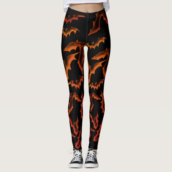 Ghostly Bats - Samhain Leggings