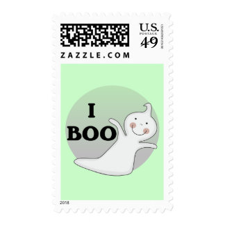 Ghostly Boo Tshirts and Gifts Stamps