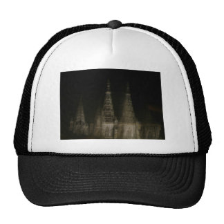 Ghostly cathedral mesh hats