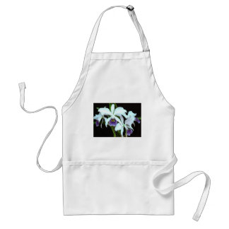 Ghostly Cattleyas Adult Apron