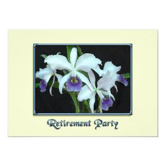 Ghostly Cattleyas Retirement Card