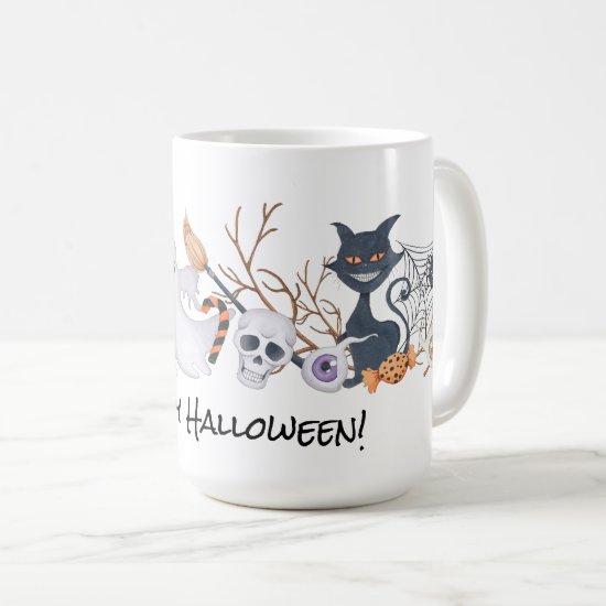 Ghostly Encounters Halloween Mug  