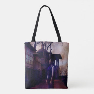 Ghostly Encounters Tote Bag