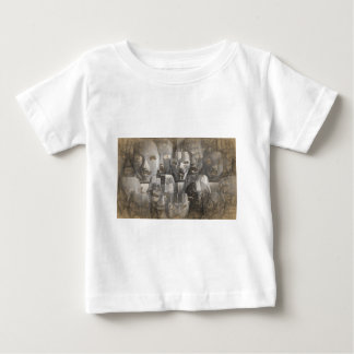 Ghostly faces baby T-Shirt