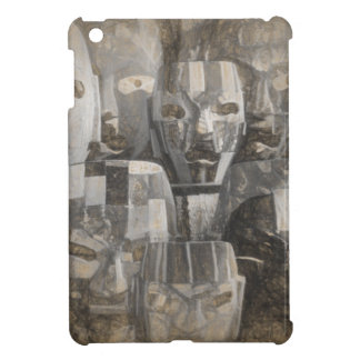 Ghostly faces cover for the iPad mini