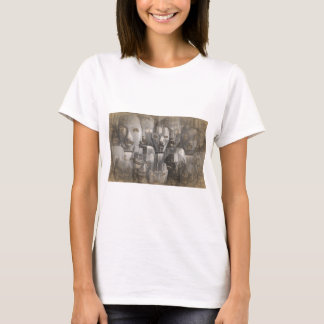 Ghostly faces T-Shirt