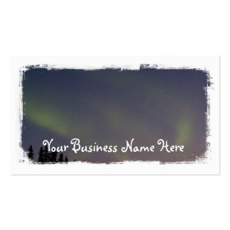 Ghostly Glow Promotional Business Cards